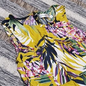 Peaceful perfection dress in palm
